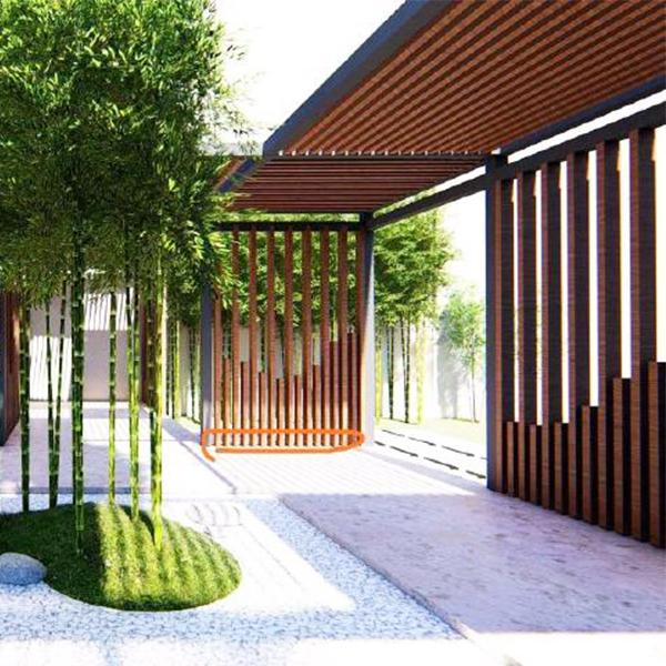 钢结构庭院定制