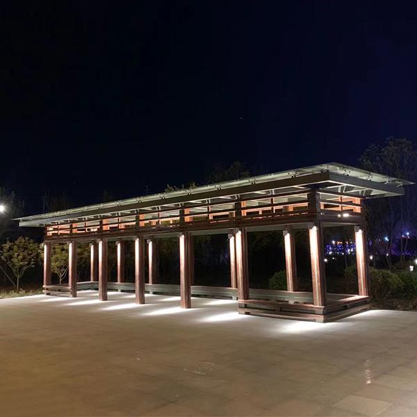 钢结构景观走廊