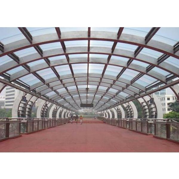 钢结构拱形屋顶